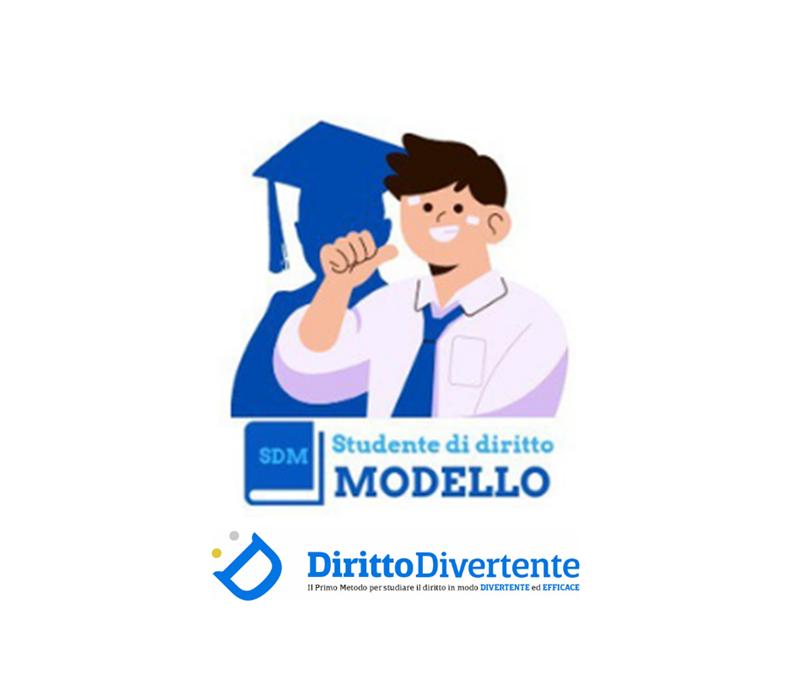 STUDENTE DI DIRITTO MODELLO